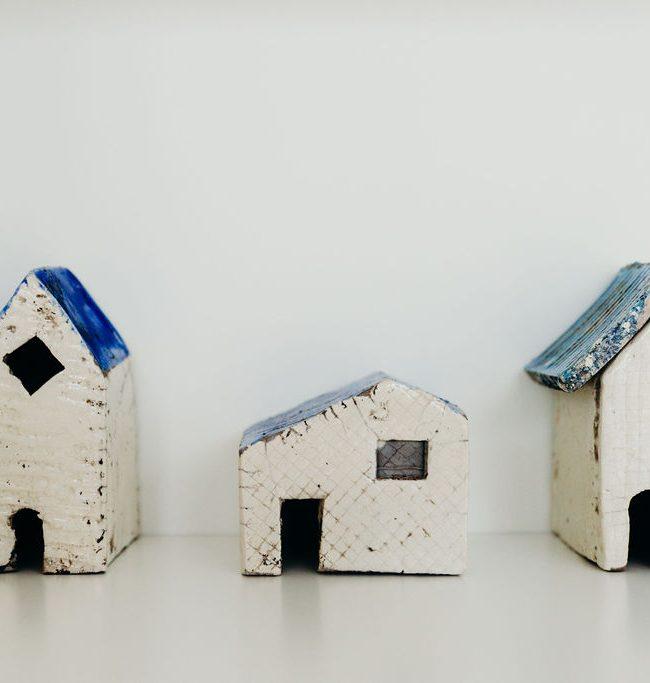 kunstwerk huisjes